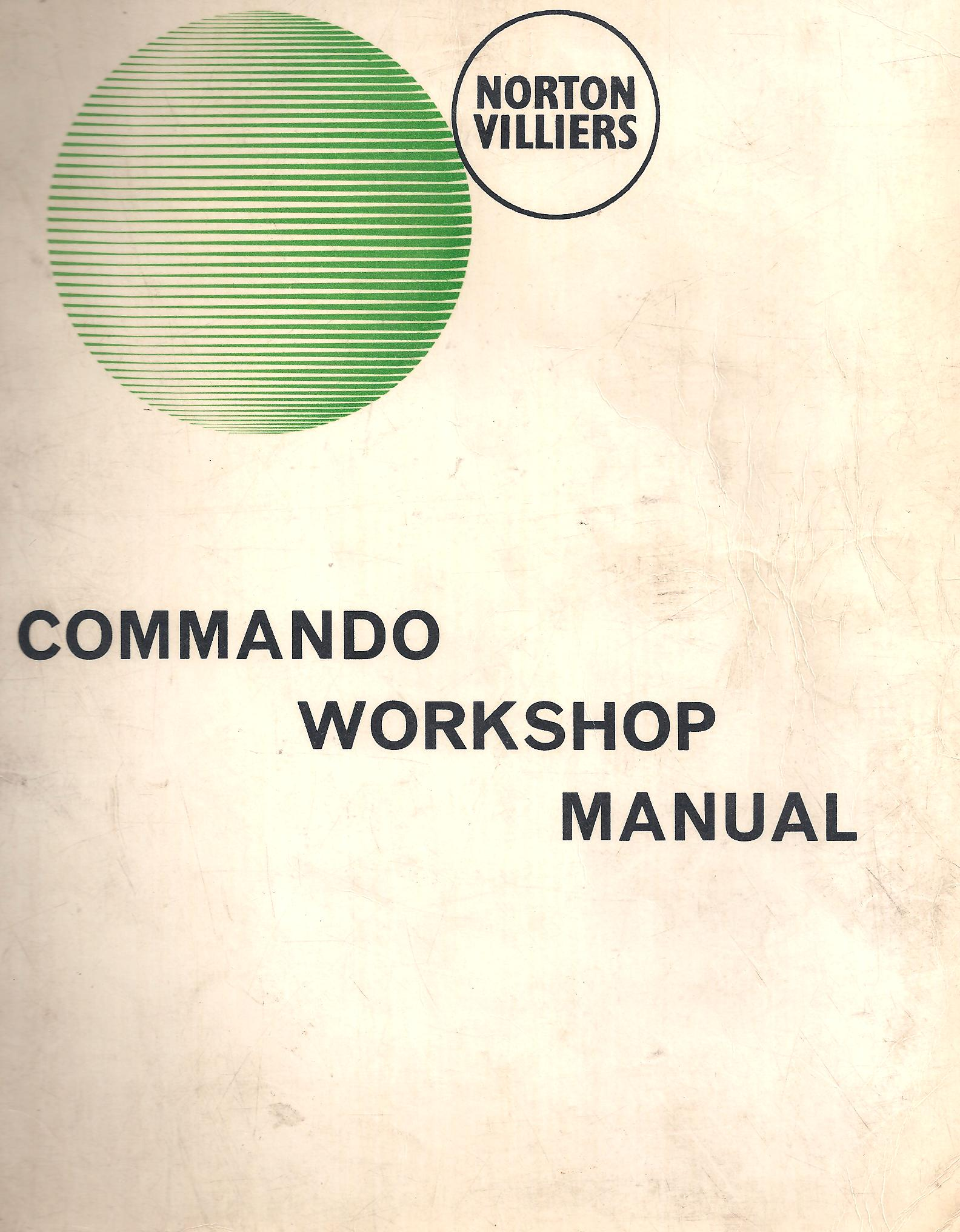 Commando Workshop Manual