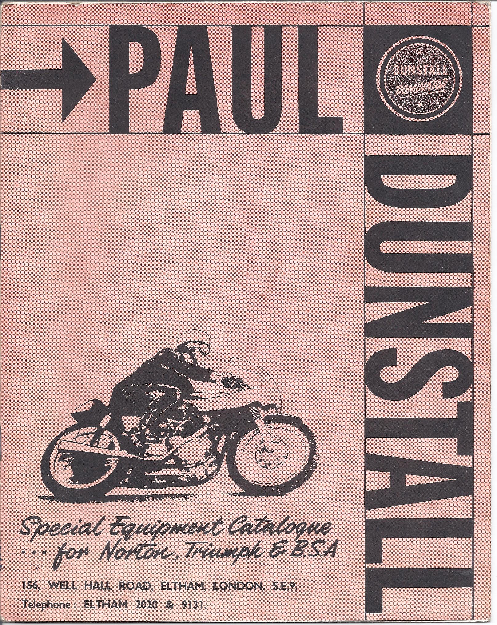 Paul Dunstall Catalogue