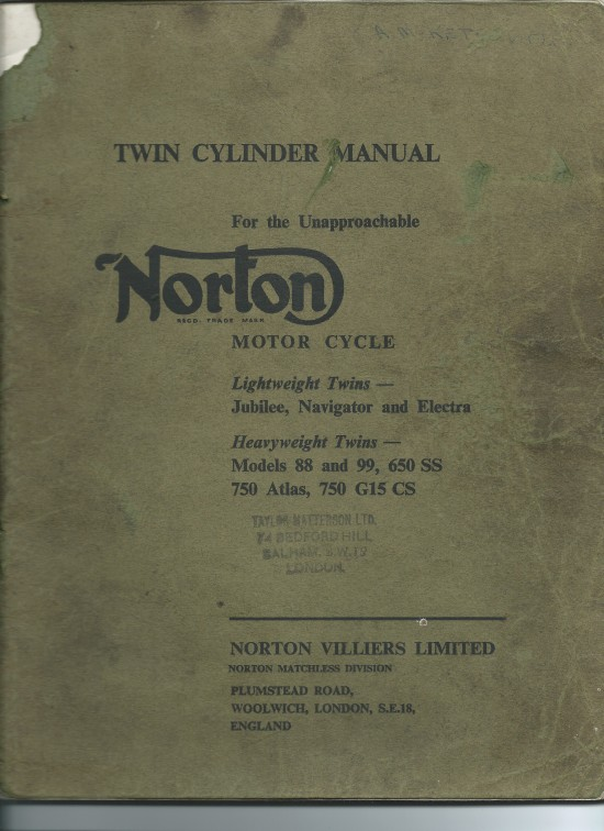 Twin Cylinder Manual
